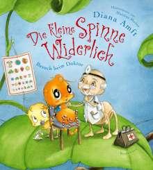 Diana Amft: Die kleine Spinne Widerlich - Besuch beim Doktor, Buch