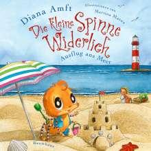 Diana Amft: Die kleine Spinne Widerlich - Ausflug ans Meer (Mini-Ausgabe), Buch