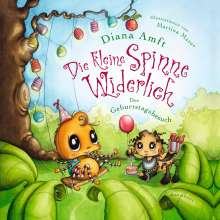 Diana Amft: Die kleine Spinne Widerlich - Der Geburtstagsbesuch (Pappbilderbuch), Buch