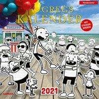 Jeff Kinney: Gregs Kalender 2021, Kalender