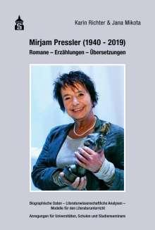 Karin Richter: Mirjam Pressler (1940-2019), Buch
