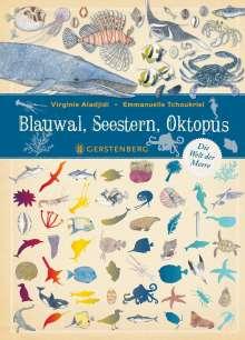 Virginie Aladjidi: Blauwal, Seestern, Oktopus, Buch