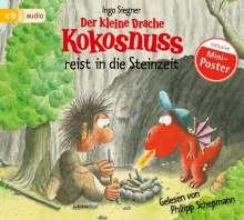 Ingo Siegner: Der kleine Drache Kokosnuss reist in die Steinzeit, CD