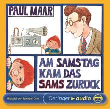 Maar,Paul:Am Samstag kam das Sams zurück, CD