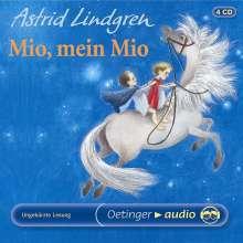 Astrid Lindgren - Mio, mein Mio, 4 CDs