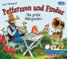 Sven Nordqvist: Pettersson und Findus - Die große Hörspielbox (3 CD), 3 CDs