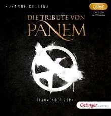 Die Tribute von Panem.Flammender Zorn (3), 2 CDs