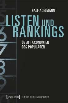 Ralf Adelmann: Listen und Rankings, Buch