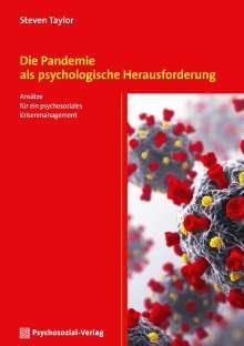 Steven Taylor: Die Pandemie als psychologische Herausforderung, Buch