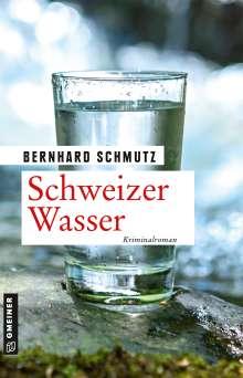 Bernhard Schmutz: Schweizer Wasser, Buch