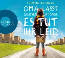 Fredrik Backman: Oma lässt grüßen und sagt, es tut ihr leid, CD