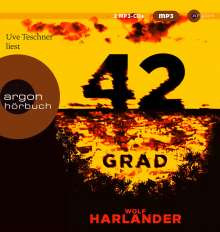 Wolf Harlander: 42 Grad, 2 MP3-CDs