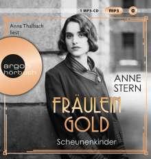 Anne Stern: Fräulein Gold. Scheunenkinder, MP3-CD