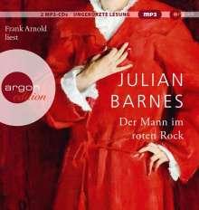 Julian Barnes: Der Mann im roten Rock, 2 MP3-CDs