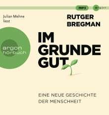 Rutger Bregman: Im Grunde gut, 2 MP3-CDs