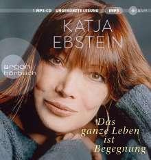 Katja Ebstein: Das ganze Leben ist Begegnung, MP3-CD
