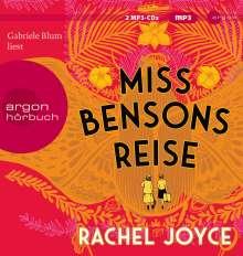 Miss Bensons Reise, 2 MP3-CDs