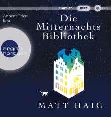 Matt Haig: Die Mitternachtsbibliothek, MP3-CD