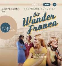 Stephanie Schuster: Die Wunderfrauen, 2 MP3-CDs