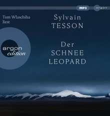 Sylvain Tesson: Der Schneeleopard, MP3-CD