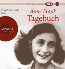 Anne Frank: Tagebuch (Hörbestseller MP3-Ausgabe), CD