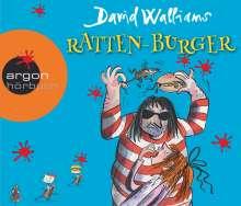 David Walliams: Ratten-Burger, 3 CDs