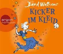 David Walliams: Kicker im Kleid, 3 CDs