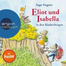Ingo Siegner: Eliot und Isabella in den Räuberbergen, 2 CDs