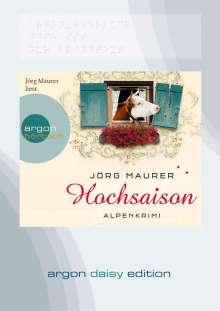 Jörg Maurer: Hochsaison (DAISY Edition), CD