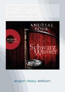 Andreas Föhr: Schwarzwasser (DAISY Edition), MP3-CD