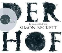 Simon Beckett: Der Hof (Hörbestseller), 6 CDs
