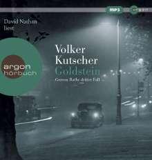 Volker Kutscher: Goldstein, MP3-CD