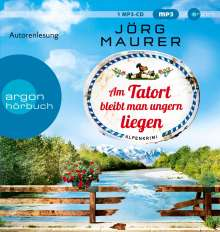 Am Tatort Bleibt Man Ungern Liegen, MP3-CD