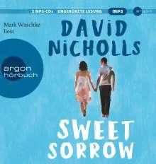 David Nicholls: Sweet Sorrow, 2 MP3-CDs