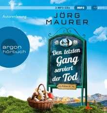 Den Letzten Gang Serviert Der Tod (SA), 2 MP3-CDs