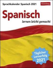 Sylvia Rivero Crespo: Sprachkalender Spanisch 2020, Diverse