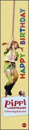 Pippi Langstrumpf Geburtstagskalender long, Kalender