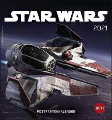 Star Wars 2020. Postkartenkalender, Diverse