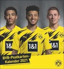 Borussia Dortmund 2020 Postkartenkalender, Diverse