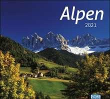 times & more Bildkalender Alpen 2021, Diverse