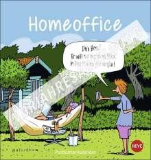 Peter Butschkow: Homeoffice Postkartenkalender 2022, Kalender
