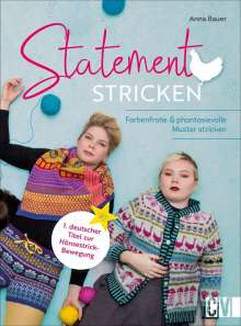 Anna Bauer: Statement Stricken, Buch