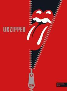 The Rolling Stones: UNZIPPED, Buch
