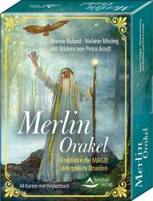 Jeanne Ruland: Merlin-Orakel - Entdecke die Magie des großen Druiden, Buch