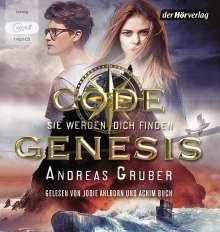 Andreas Gruber: Code Genesis - Sie werden dich finden, MP3-CD