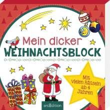 Mein dicker Weihnachtsblock, Buch