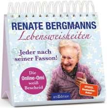Renate Bergmann: Renate Bergmanns Lebensweisheiten. Jeder nach seiner Fasson, Buch