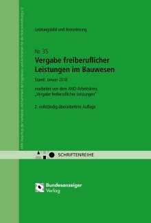 Vergabe freiberuflicher Leistungen im Bauwesen - Leistungsbild und Honorierung, Buch