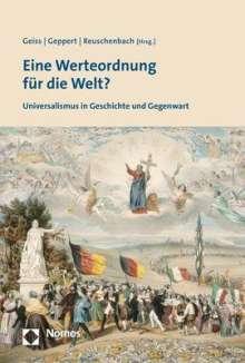 Eine Werteordnung für die Welt?, Buch