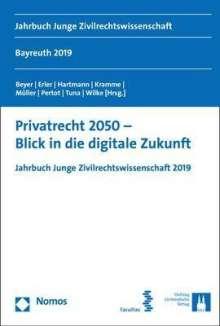 Privatrecht 2050 - Blick in die digitale Zukunft, Buch